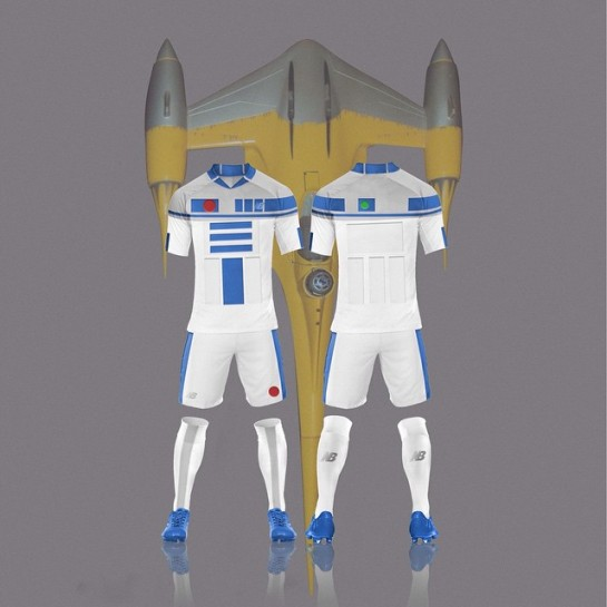 Star Wars Kits Football Design 5