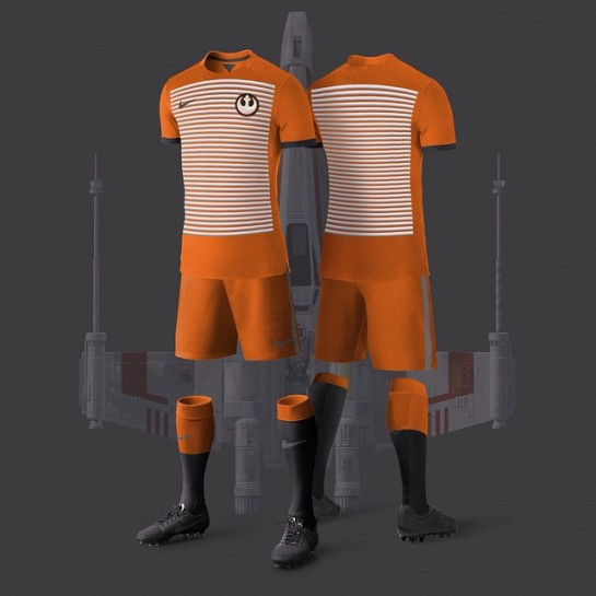 Star Wars Kits Football Design 7