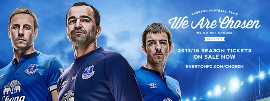 Everton we are chosen header