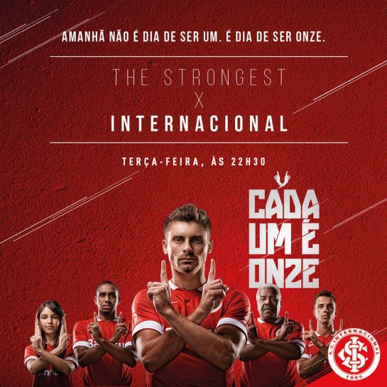 Sport Club Internacional design football website 12elfth man nike 5