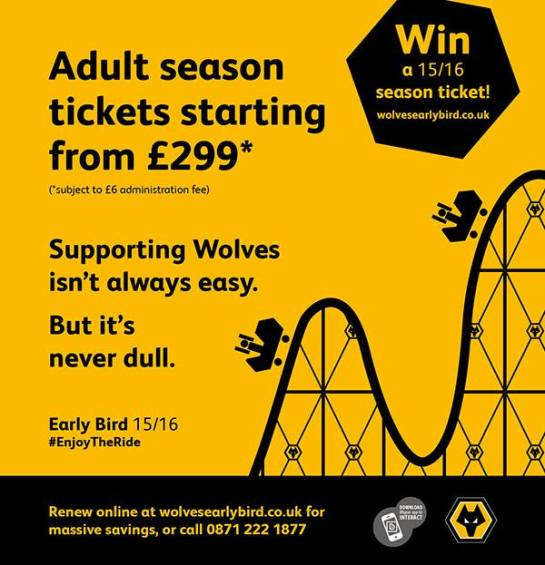 wolves 15 16 season tickets 2