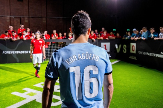 Aguero and Falcao go Head To Head in Lead up to Manchester Derby_PUMA Image 9